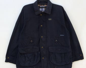 90s Hai Sporting Gear by Issey Miyake double pocket jacket Issey Sport I.S japan top designer M size Rare