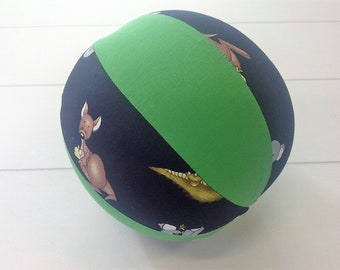 Balloon Ball Baby, Balloon Cover, Balloon Ball, Ball, Kids, Kangaroos, Green, Portable Ball, Travel Toy, Travel, Eumundi Kids, Eumundi
