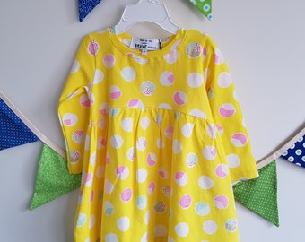 Horizon Girls Dress - Knit Dress - Girl Toddler Dress - Girls Clothing - Longsleeve Dress