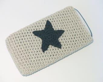 "Unique crocheted 4.8 ""smartphone & Iphone case"