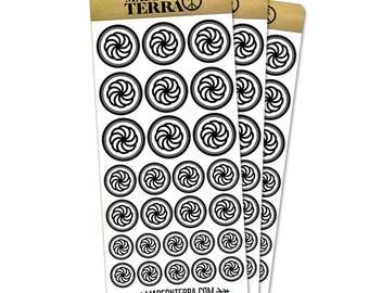 Armenian Eternity Removable Matte Sticker Sheets Set