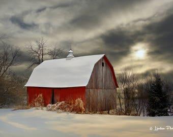 Winter Barn # 118