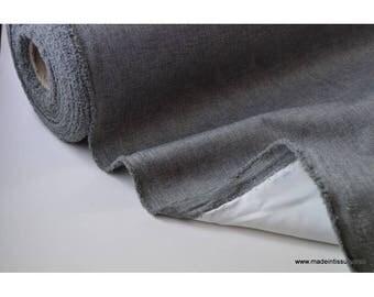tissu occultant oxford gris anthracite x50cm