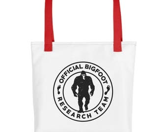 Official Bigfoot Research Team Wild Hunting Outdoor Sasquatch Yeti Chupacabra Bigfoot Tote bag