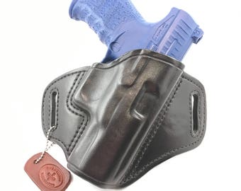 "Walther PPQ 4"" - Handcrafted Leather Pistol Holster"