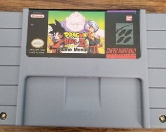 Dragon Ball Z Ultimate Menace Custom English Super Nintendo SNES