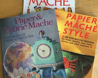Papier Mache Books