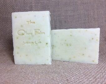 Natural Cucumber and Yogurt Soap with Tussah Silk