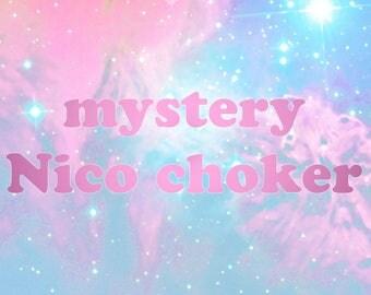 Mystery Ruffled Ribbon Choker