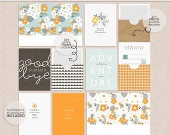 Amelia - Digital Jounal Card Kit