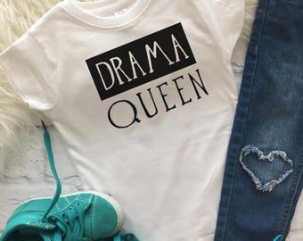 Drama Queen | Queen shirt | Drama shirt | Drama girl shirt | Funny girl shirts | Queen of drama | Queen birthday tee | Fringe dress