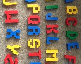 Lego Letter Name