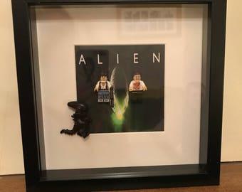 Lego minifigure picture - Alien