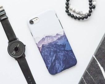 Mountains iPhone Case iPhone 8 Case iPhone 8 Plus Case iPhone 7 Case iPhone 7 Plus Case iPhone 6s Case iPhone 6s Plus Case Matte White Photo