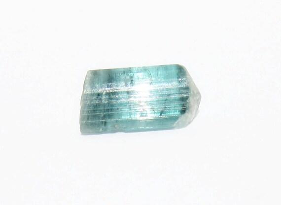 Bright Blue Green Tourmaline Rough 3 84 Ct Clean Facet