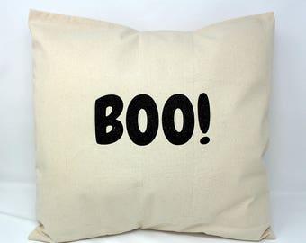 sparkly halloween boo pillow halloween pillows halloween pillow covers halloween pillow cases - Halloween Pillows