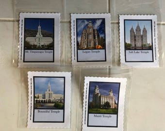 "LDS Temple 3X4.5"" Sewing Labels"