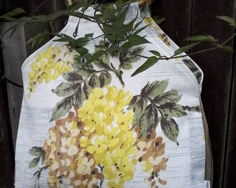 Handmade, Bag For Life/ Shopping Bag/Hand Bag/ Purse, Made Using Original 1950's Barkcloth Fabric.