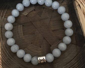 Sea Gemstone Taurus Star Sign Zodiac Sign Bracelet