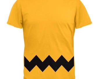 Halloween Yellow Zig Zag Costume T-Shirt