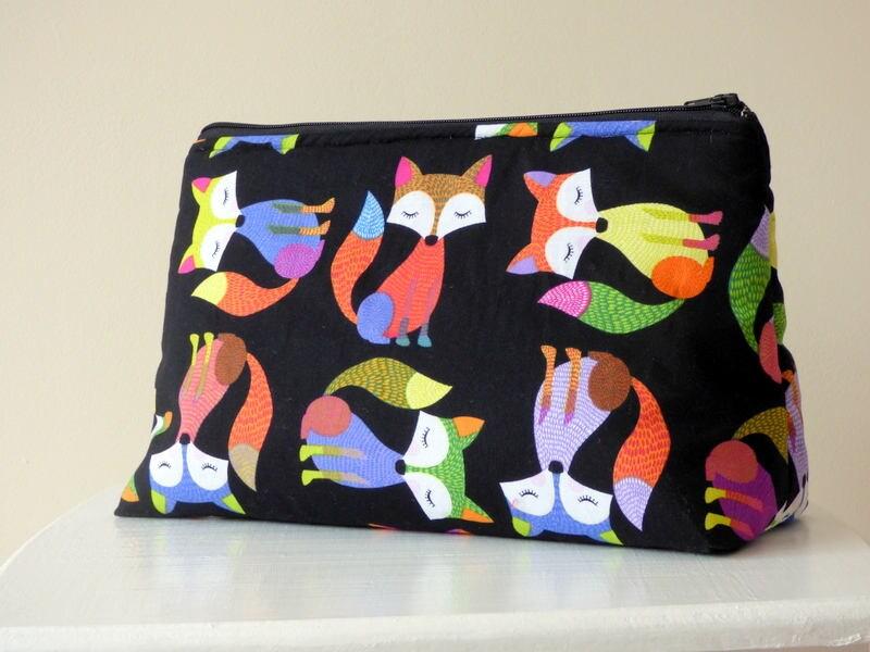 Fox Wash Bag Toiletry Bag Large Makeup Bag Fox Travel Bag