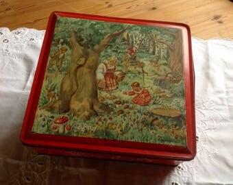 Van Melles vintage biscuit tin