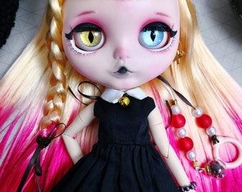 Kuromi – Custom Blythe Doll – OOAK Blythe Doll