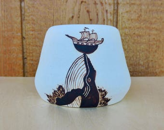 Illustrated Whale Cup