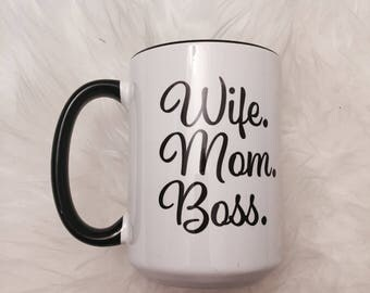 For all those busy Mom's out there! Mom, wife, boss
