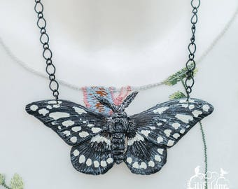 Papilio cresphontes Necklace-Black