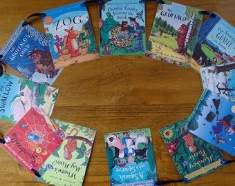 Story Book Bunting, Gruffalo, Julia Donaldson