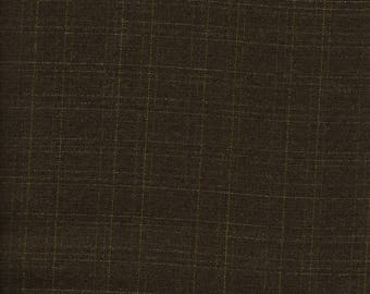 Tropical Weight Suiting  Poly/Wool  Soft Black Fabric