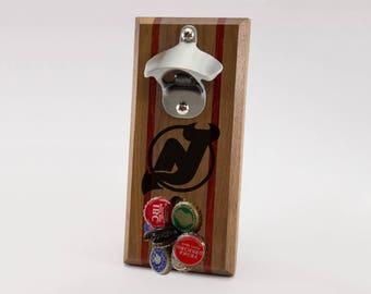 New Jersey Devils Magnetic Bottle Opener