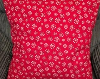 Snowflake Christmas Cushion Cover, Christmas Cushion Cover, Snowflake Cushion Cover, Festive Cushion Cover, 16x16 Cover, Christmas Decor