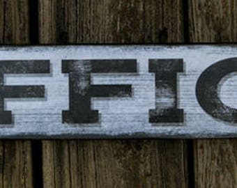 Office Sign - Rustic Wood Office Sign - Office Wall Decor - Home Decor - House Warming Gift
