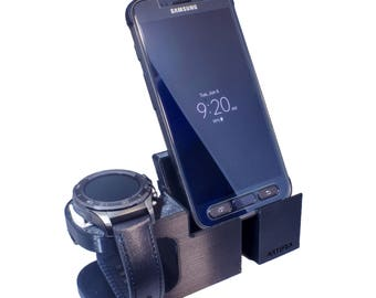 Huawei 2 Watch Stand, Artifex Charging Dock Watch 2 Classic and Sport Combo