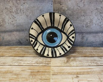 Hand-painted Eye Bowl