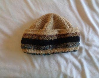 mens knitted beenie