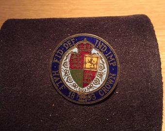 1893 Half Crown Badge