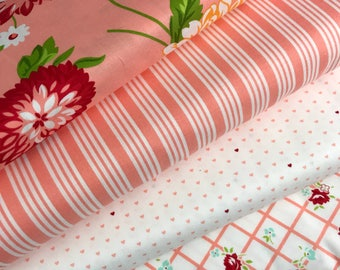 Bundle of 4 fabrics from The Good Life collection by Bonnie and Camille for Moda Fabrics, Choose the Bundle Size