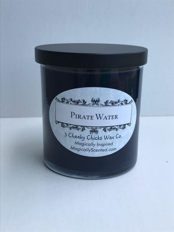 Pirate Water Candle