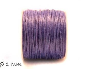 Designed, cotton string, lilac, Ø 1 mm