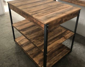 Kitchen Island (Shipping Included)