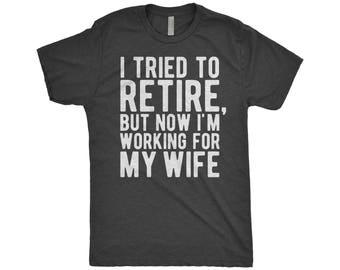 Retirement Shirt For Men | Retirement Gift | Funny Retirement Shirts | I'm Retired T-Shirts | Aspiring Retiree