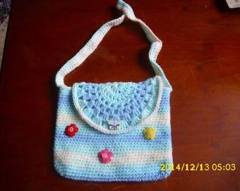 small crochet bag hand made for little girl