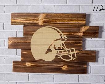 Cleveland Browns Wood Sign Cleveland Browns Wall art Cleveland Browns Gift Cleveland Browns Birthday Cleveland Browns Party wooden