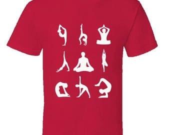 Yoga Asanas yoga tshirt,yoga clothing,mindfulness,meditation,om,chakras,asanas,yoga gear,yoga apparel,keep calm tshirts,mantras,kids tshirts