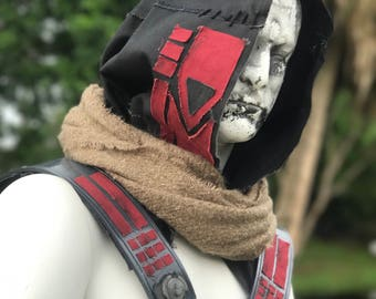Destiny Cayde-6 inspired hood and cape
