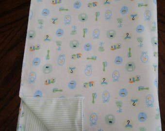 Gender neutral baby blanket (about 1 yard)
