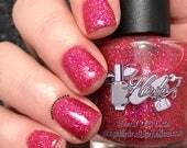 Nail polish - Indie polish, Sparkly Cosmopolitan, 15 ml, 0.5 oz.